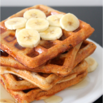 Waffles Integrais de Melado
